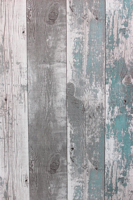 vlies tapete antik holz rustikal verwittert petrol grau. Black Bedroom Furniture Sets. Home Design Ideas