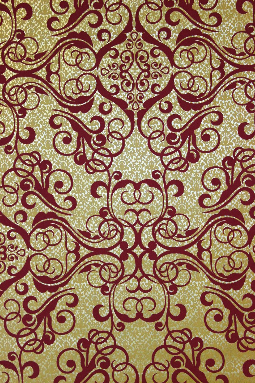 elegante barocktapete 13511 30 in rot gold joratrend tapetenshop. Black Bedroom Furniture Sets. Home Design Ideas