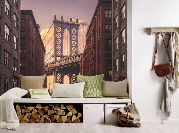 Fototapete Digitaldruck Brooklyn Bridge 255 x 350 cm