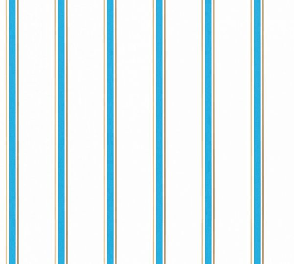 Esprit Kids Streifen Tapete blau weiß