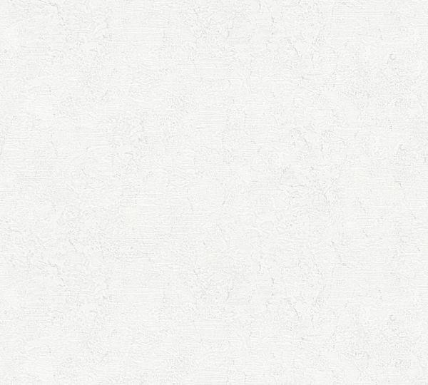 Vliestapete Uni Struktur grau weiß Großrolle