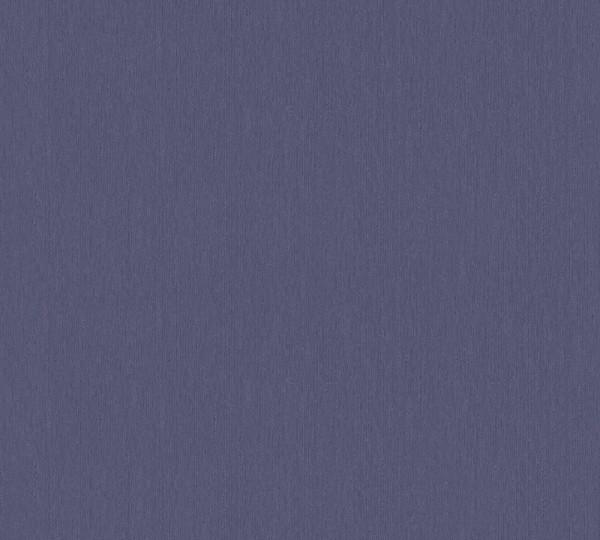 Vliestapete Uni blau metallic Hermitage
