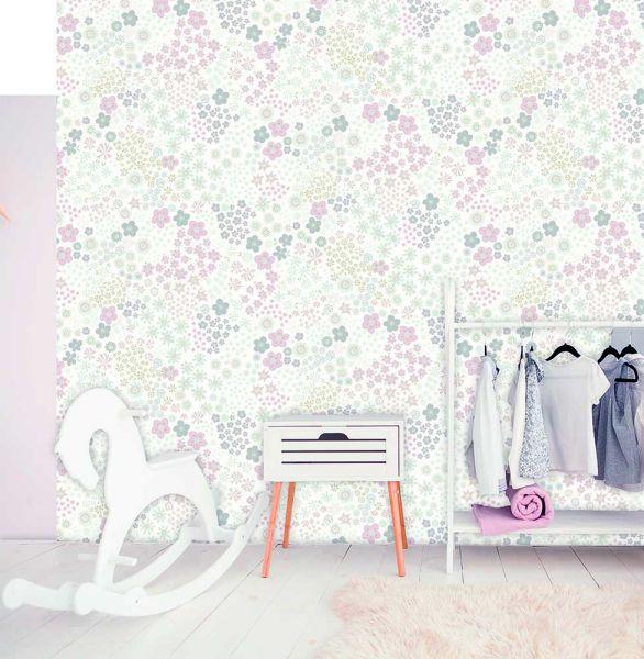 Vlies Fototapete Sweet Florals Wandbild 200 x 280 cm