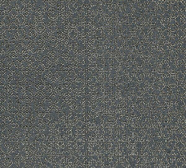 Vliestapete marokkanisches Grafik Muster anthrazit grau metallic