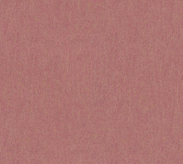 Vliestapete Uni Struktur rot gold Großrolle