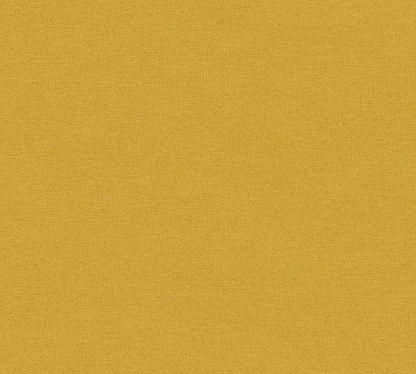 Uni Vlies Tapete Textil Optik gelb Palila
