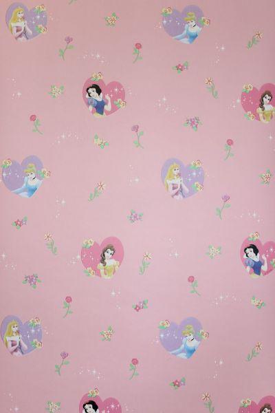 Disney Prinzessinnen Papier Tapete