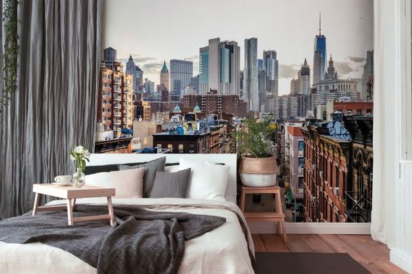 Fototapete Digitaldruck New York Skyline 255 x 350 cm