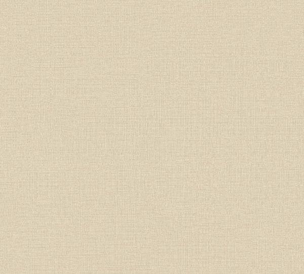Vliestapete Uni Struktur Textil Optik beige