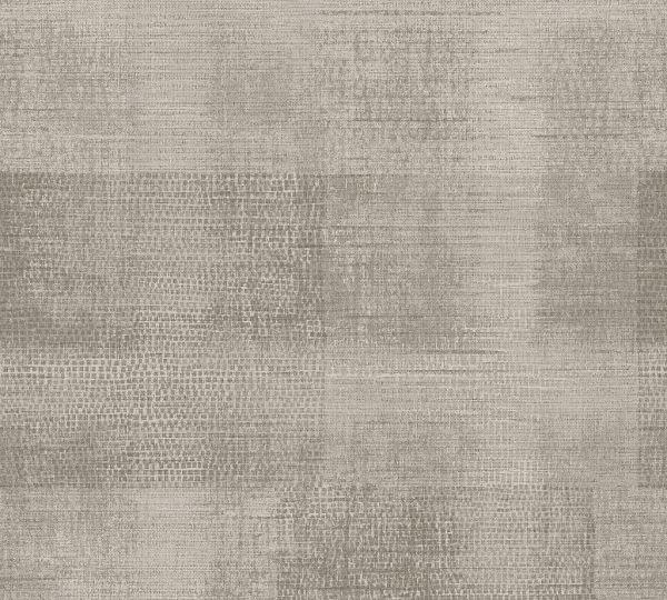 Vliestapete Patina Textil Optik beige toop braun