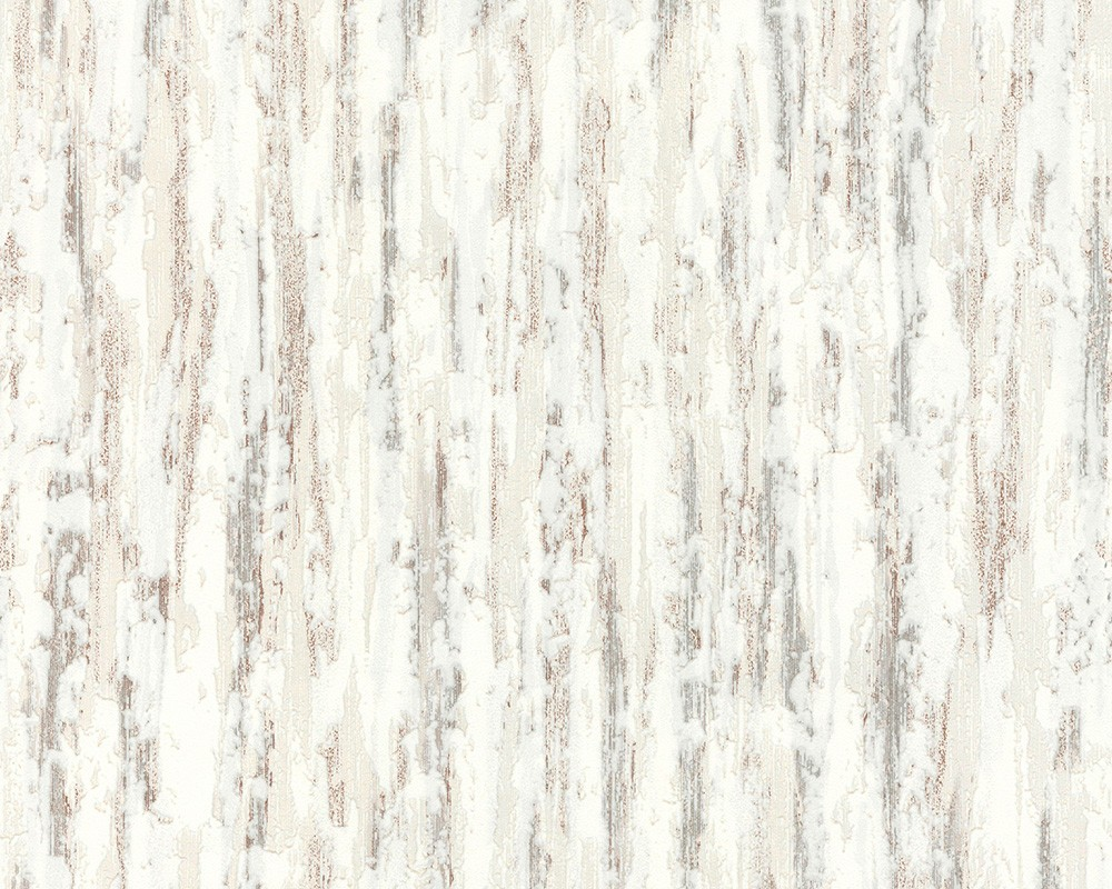 Dicke Uni Struktur Tapete Weiß Beige Grau Putz Struktur 2409 65 As