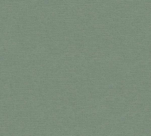 Ethnic Origin Uni Vliestapete grün