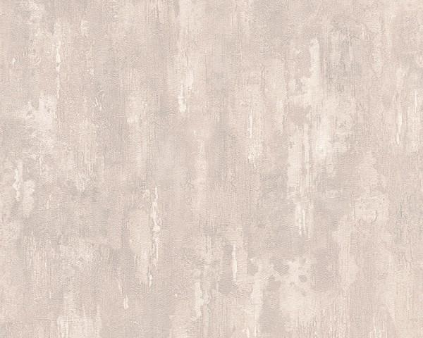 Vliestapete Beton Stein Optik creme beige
