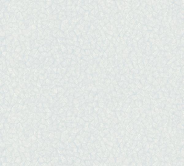 Grafisches Muster Vlies Tapete weiß grau