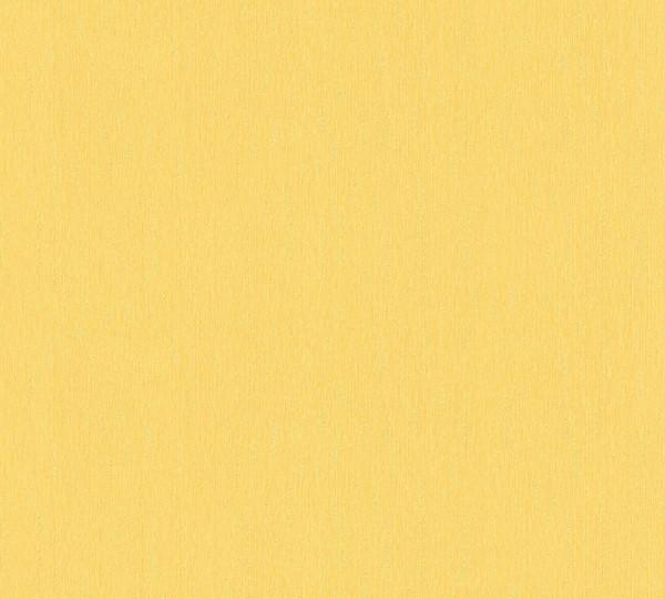 Vliestapete Uni gelb Hermitage