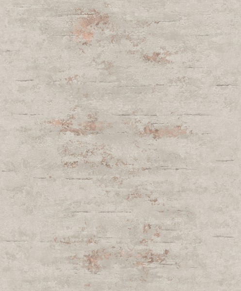 Vliestapete Uni Beton Stein Optik grau bronze