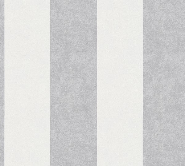 Vliestapete Streifen hell grau Memory 3