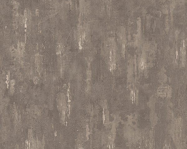 Vliestapete Beton Stein Optik braun