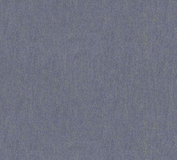 Vliestapete Uni Struktur blau gold Großrolle