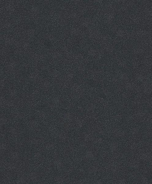 Vliestapete Carat Uni schwarz glänzend