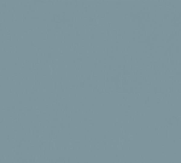 Vlies Tapete Uni blau matt