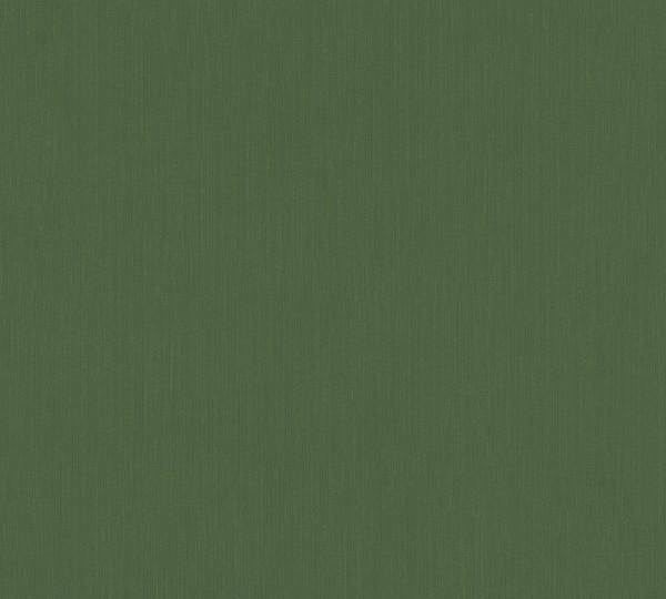 Vlies Tapete Uni Struktur grün