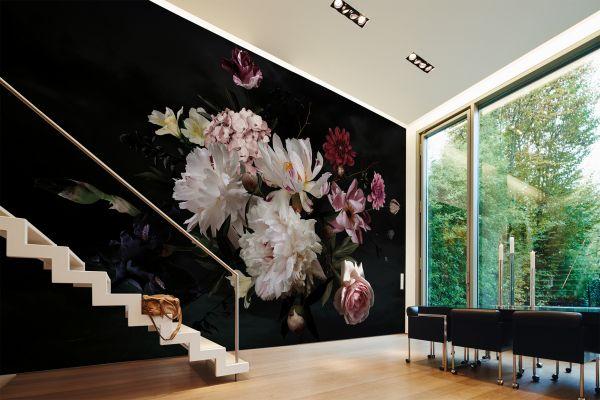Fototapete Digitaldruck Pfingstrosen Flowers 255 x 350 cm