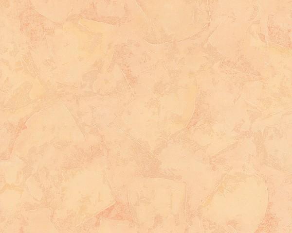 Uni Struktur Vlies Tapete Spachtelputz apricot