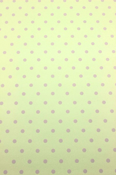 Vinyl Kinderzimmer Tapete Punkte Glitzer Effekt