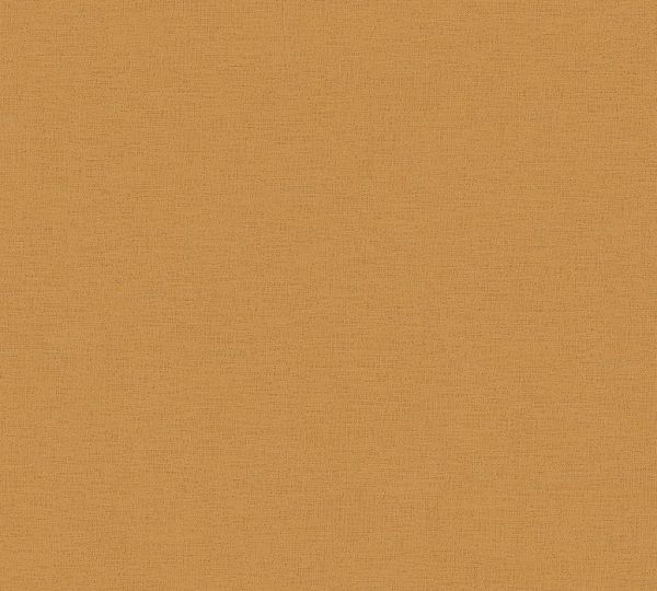 Ethnic Origin Uni Vliestapete orange braun