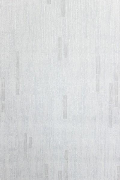 Vliestapete Uni Streifen Struktur weiß grau metallic glitzer