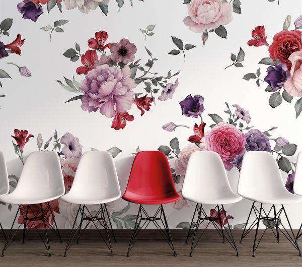 Fototapete Digitaldruck Blumensträuße 255 x 350 cm