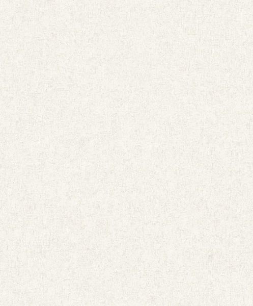 Uni Vlies Tapete creme weiß matt Struktur