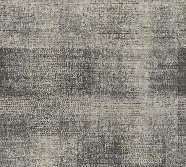 Vliestapete Patina Textil Optik kieselgrau