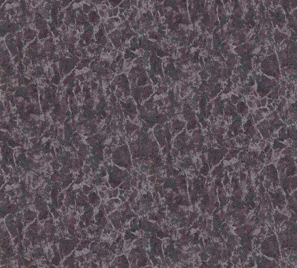 Vliestapete Uni Marmorstruktur schwarz metallic Aloha Großrolle