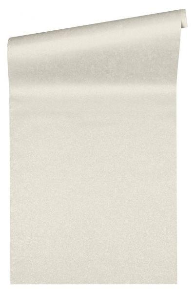 Uni Vliestapete weiß metallic Versace 4