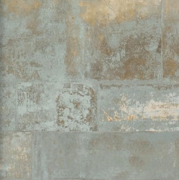 Vliestapete Stein Bruchstein gold grau