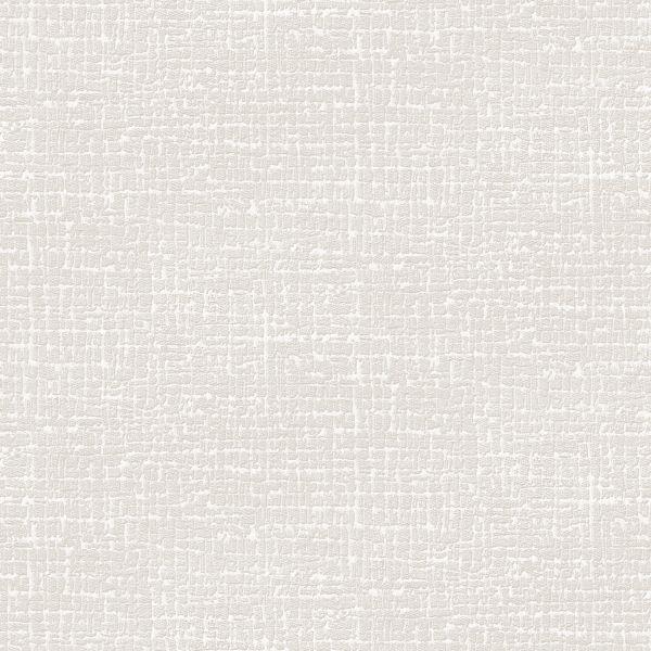 Elegante Struktur Stickoptik Vliestapete creme weiß