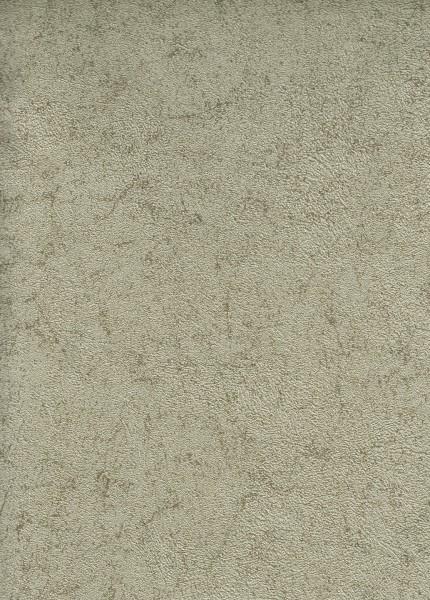 Vliestapete Uni Struktur metallic oliv gold 1505