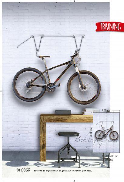 Vlies Fototapete Fahrrad Bicycle Training Wandbild 200 x 300cm