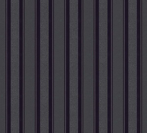 Vliestapete Streifen schwarz Glitzer Klara