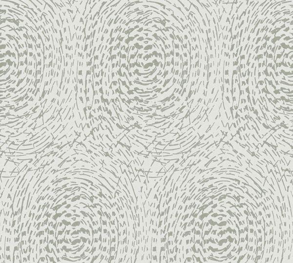Vlies Tapete grafische abstrakte Kreise beige grau metallic