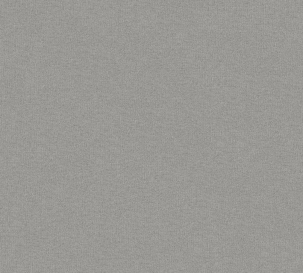 Uni Vlies Tapete Textil Optik grau braun Palila