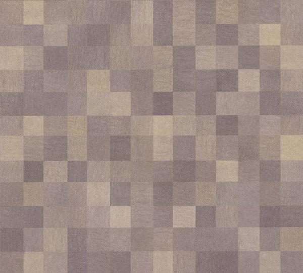 Vliestapete Kacheln Pixel Muster braun