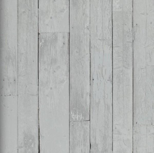 Vlies Tapete Antik Holz Bretter rustikal verwittert grau