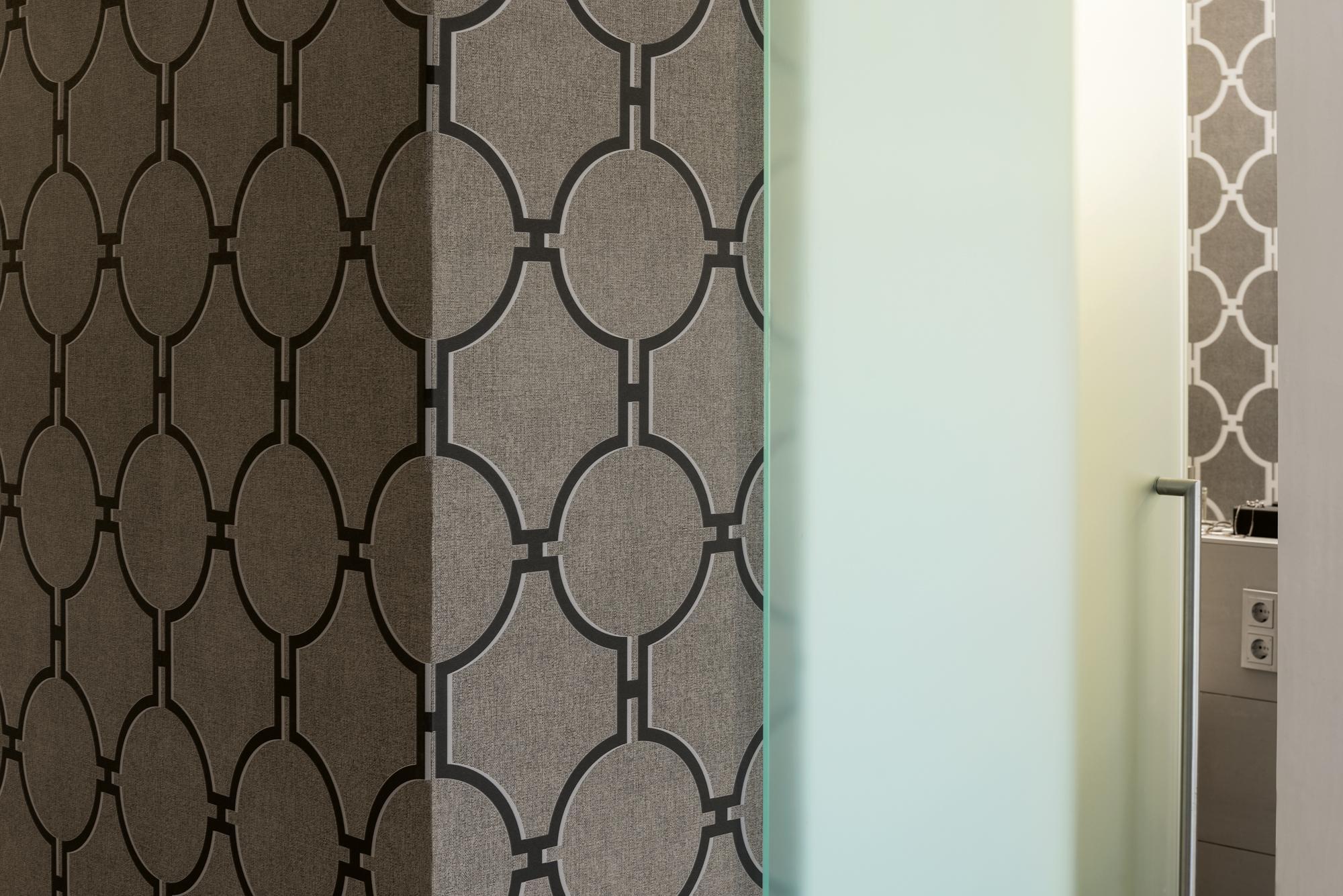 Vlies Tapete Vintage Grafik Kreise braun grau 36149-4 Elegance 5th Avenue