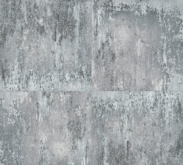 Vliestapete Metall Optik grau Tibo