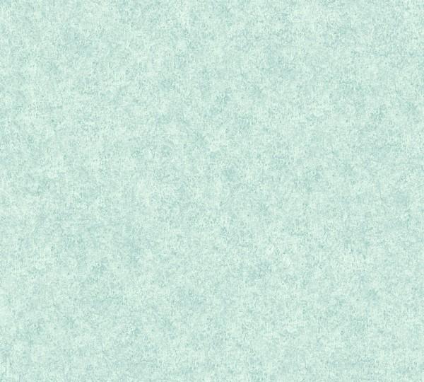 Vliestapete A.S Création Neue Bude 2.0 Putzstruktur Optik mintgrün