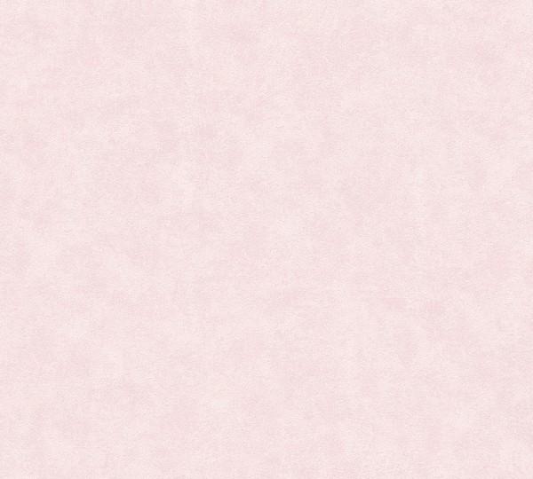 Vliestapete Uni rosa meliert Memory 3