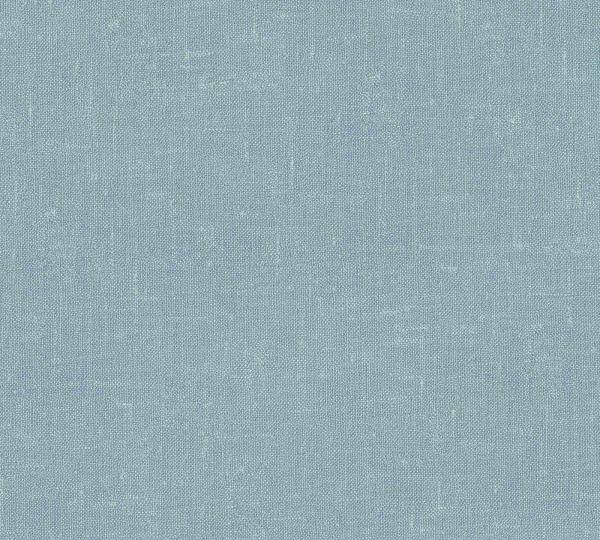 Vliestapete Uni Struktur Textil Optik hell blau